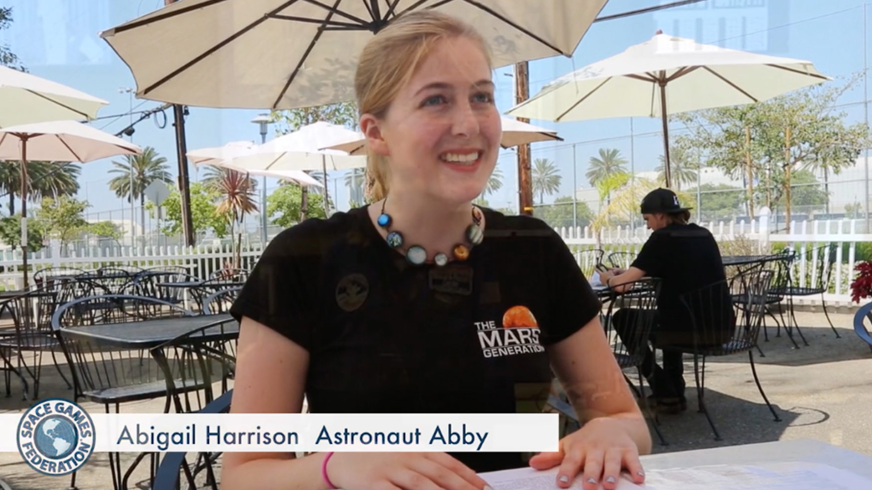 "MEET ""ASTRONAUT ABBY"""