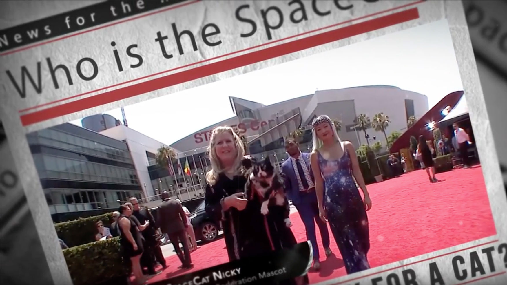 July Newsletter ESPYs Red Carpet: Space + Sports Collided!